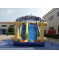 Buy cheap Kids Bouncy Castle With Slide 8 X 4 X 4.5m , Customized Bouncy Castle Water Slide from wholesalers