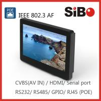 Buy cheap SIBO Enhanced POE Touch Screen Panel PC from wholesalers