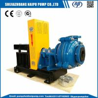 Buy cheap AH 3/2C Cetnrifugal horizontal rubber liners slurry pump from wholesalers