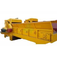 Buy cheap Yellow Wood Sawdust Machine , Heavy Duty Wood Chipper Machine 5.5 Kw from wholesalers