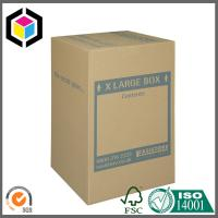 Buy cheap Extra Large Size Custom Color Logo Print Double Wall Carton Packaging Box product