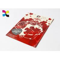 China Matt Paper Custom Magazine Printing Full Color Red Subscription For People on sale