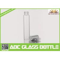 Buy cheap 10ml Long Thin Custom Made Clear Perfume Glass Bottle With Screw Cap from wholesalers