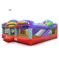 Buy cheap Fun Fair Park Play Inflatable Bounce House Combo 1 - 3 Years Warranty 120 KG Weight from wholesalers