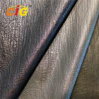 Buy cheap Wear Resistant 30% Polyester 70% PU Synthetic Leather For Garments 150cm Width product