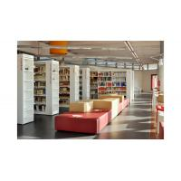 Buy cheap Cultural center Study Architecture project design by White wood bookcase and Reading desk from wholesalers