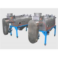 Buy cheap High Capacity Centrifugal Sifter Screens Rotary Trommel Screen Turbo Sieve from wholesalers