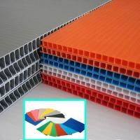 Buy cheap 2440x1220mm 4x8 2mm 3mm 5mm PP Corrugated Plastic Sheet from wholesalers