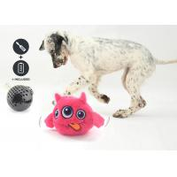 Buy cheap Motorized Rolling Jumping Dog Toy 3 Batteries Included With Plush Cover from wholesalers