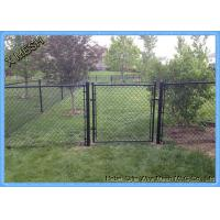 Buy cheap 11.5 Gauge Green PVC Coated Galvanized Chain Link Fence from wholesalers