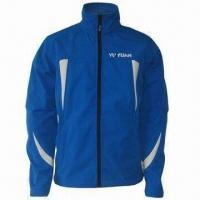 Buy cheap Softshell Jacket for Men, 4-way Elastic Bonded Fabric, Waterproof, Breathable and Windproof from wholesalers