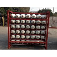 Quality Custom 200 Bar / 250 Bar Ground CNG Storage Tanks / Cascade Tank For Gas Filling Stations for sale