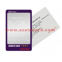 Buy cheap Visual Card, Thermo Rewrite Card from wholesalers