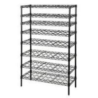 Buy cheap Common Commercial Wire Shelving , 8 Tier Freestanding Organizer Holder And Water Bottle Storage Metal Wire Wine Rack from wholesalers