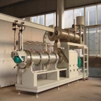 Buy cheap 300kg/h fully automatic fish farm floating fish feed machine,floating fish feed pellet machine from wholesalers