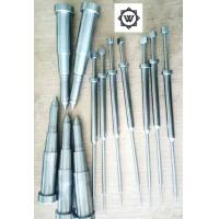 Buy cheap SKD61 Metal Threaded Inserts For Plastic Injection Mold Ejector Sleeve Ejector Pin DME from wholesalers