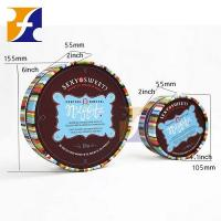 Buy cheap Printed rigid round chocolate gift box from wholesalers