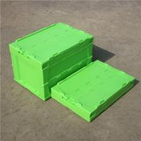Buy cheap Convenient Plastic Collapsible Totes Bright Color For Appliance Industries from wholesalers