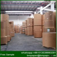 Buy cheap Paper Mill C1S White Duplex Paper Card Board with Grey Back from wholesalers