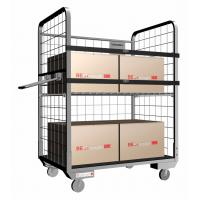Buy cheap Stainless Steel Roll Cage of Chassis With Brake Device For Parcel Collection from wholesalers