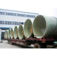 Buy cheap fiber glass reinforced plastic pipe, high quality water pipe, water treatment, anti corrosion from wholesalers