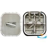 Buy cheap Boat Watertight Yatch Aluminum Hatch Cover Flush Type 6mm Cover Thickness from wholesalers