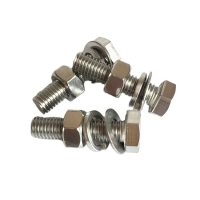 Buy cheap M8 T Head 304 316 Stainless Steel Hex Bolts With Washer from wholesalers