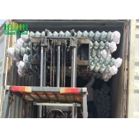 Buy cheap Galvanized Chain Link Fence Panels With PVC Coating Decorative Chain Link Garden Fence from wholesalers