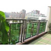 Buy cheap Best Professional Project Factory for indoor / out door glass for the rear balcony from wholesalers