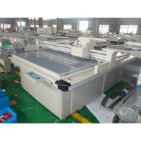 Buy cheap No Burning Box Cutting Machine / Flatbed Cutting Plotter For  Display from wholesalers