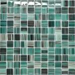 Buy cheap Blusih green mosaic tile kitchen backsplash from wholesalers
