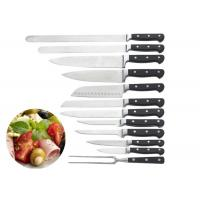 Buy cheap Cooking Stainless Steel Knife Set ABS Smithing Shank With Triple Rivets product