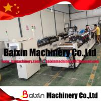 Buy cheap Laminated Film Self Stand Three Side Sealing Plastic Bag Making Machine from wholesalers
