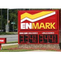 Buy cheap 20 Inches LED Gas Price Sign , Red gas station led signs with UL Certificate from wholesalers