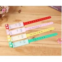 Buy cheap Wrist strap patient identification with disposable wrist band with maternal and infant children PVC wrist color bracelet from wholesalers