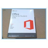 Buy cheap Microsoft Office 2016 Home And Student Edition Pc Download Lifetime Activation from wholesalers