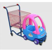 Buy cheap Cozy Coupe Metallic Kids Caddy Supermarket Shopping Cart For Grocery from wholesalers