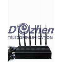 Buy cheap 6 Antenna Cell phone,GPS & RF Jammer (315MHz/433MHz) from wholesalers