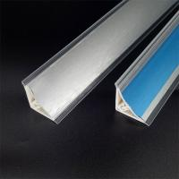 Buy cheap Aluminum brushed pvc countertop plinth concave from wholesalers