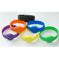 China High quality 85.5*54mm Silicone rfid wristband with RFID UITRALIGHT chip, PVC , PET , ABS on sale