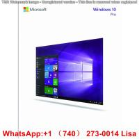Buy cheap Original Microsoft Windows 10 License Key For Desktop Computer , Laptop from wholesalers