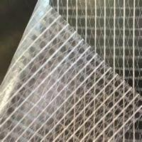 Buy cheap Greenhouse knitting fabric clear mesh PVC tarpaulin from wholesalers