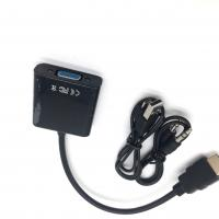 Buy cheap High Resolution HDMI Converter Adapter , HDMI Male To VGA Female Adapter from wholesalers