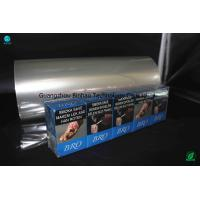 Buy cheap Brilliant Abrasion Resistance PVC Packing Film Roll For Naked Cigarette from wholesalers