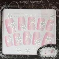 China Eco - friendly material Removable rhinestone nail stickers acrylic nail art designs on sale