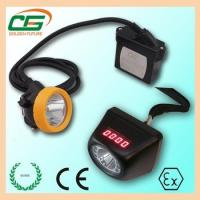 Buy cheap Waterproof Digital 1w LED Msha Approved Cordless Mining Lights With AC 100V - 240V from wholesalers