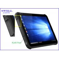 Buy cheap Ruggedized 280nit Industrial Tablet PC 1D 2D scanner 5mp camera from wholesalers