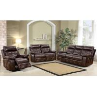 Buy cheap Genuine leather chair, love seat and sofa, brown color, black color from wholesalers
