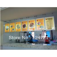 Buy cheap A3 Size snap menu display lightbox,poster frame lightbox from wholesalers