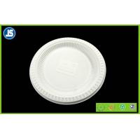 Buy cheap White Biodegradable Disposable Compostable Cornstarch Bio-based Food Trays product